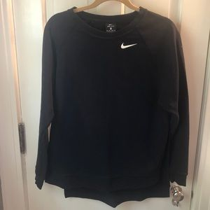Nike dri-fit black sweatshirt